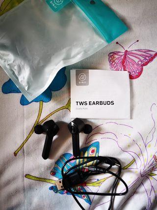 Auriculares inalámbricos TWS negros