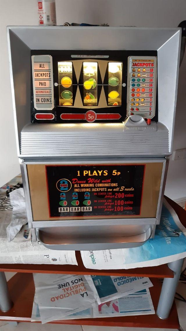 Maquina tragaperras slot Bally Wild Deuce 1964