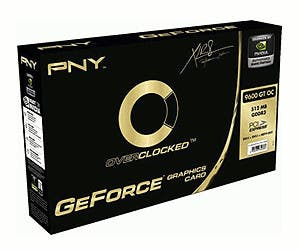 Tarjeta gráfica PNY GeForce 9600 GT OC