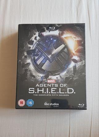 Agents of SHIELD Temporada 5 Blu-Ray Digipak