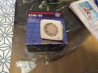 Extractor de aseos y baños. EDM-80