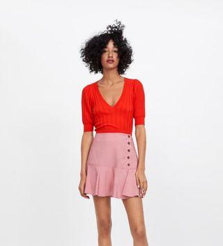 Bermuda falda zara