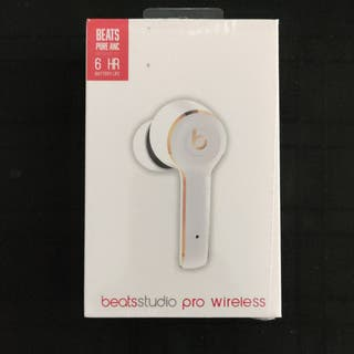Beats Studio Pro Pure ANC White New Sealed