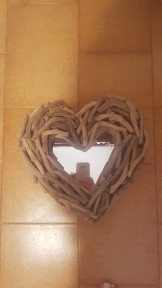 Espejos corazón