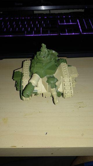Leman Russ tanque imperial guardia imperial cadia