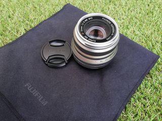 Objetivo Fujifilm XF35mmF2 R WR - Color Plateado