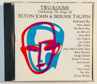ELTON JOHN : Two rooms Disco Cd