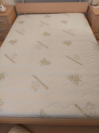 Double full latex mattress nearly new