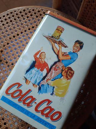 caja lata vintage de colacao