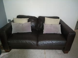 Sofitalia 2 seater Leather sofa
