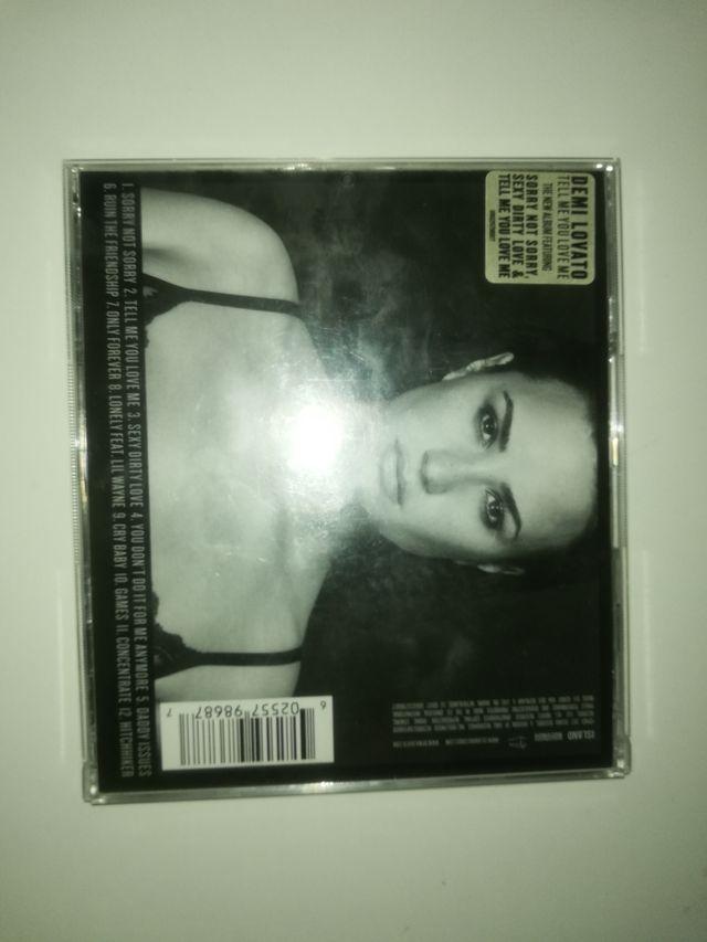 CD Tell me you love me _ Demi Lovato