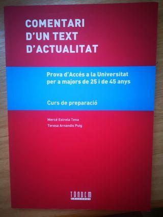 Libro de comentario de texto