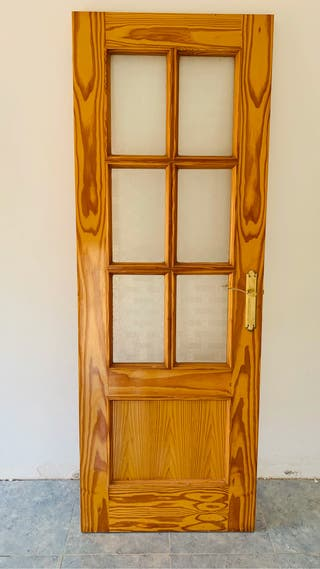 Set de 4 puertas de interior de madera