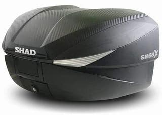 Maleta SHAD Expandible SH58X CON BASE Y ACCESORIOS