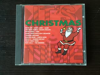 IT´S CHRISTMAS TIME CD VARIOS