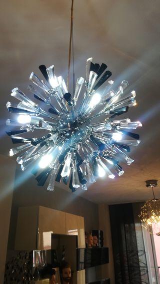 Lámpara de cristal diseño