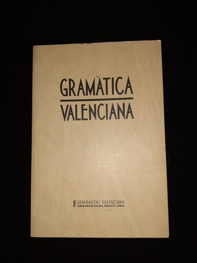 GRAMÁTICA VALENCIANA