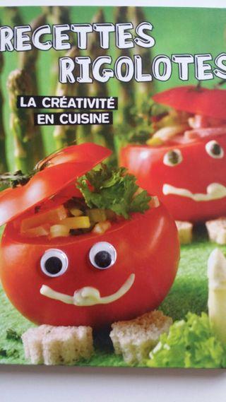 RECETTES RIGOLOTES libro cocina para fiestas niños