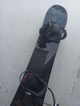 Tabla snow + fijaciones