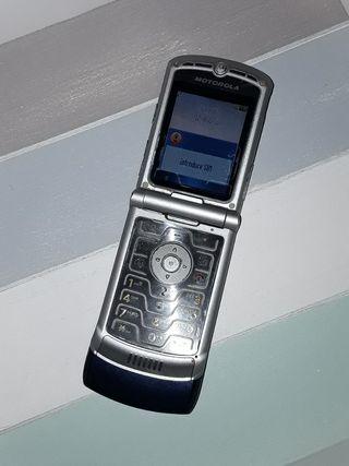 Motorola RAZR V3 Azul Libre