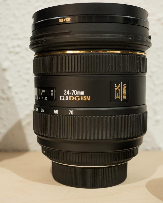 Objetivo Sigma 24-70 2.8 DG Para Nikon