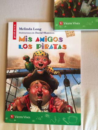 Mis amigos los piratas de Mercedes Long. Piñata