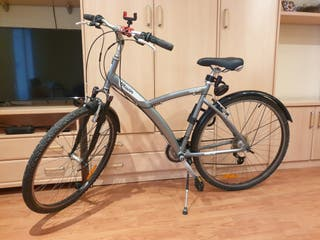 Bicicleta urbana BTWIN 21 velocidades talla adulto