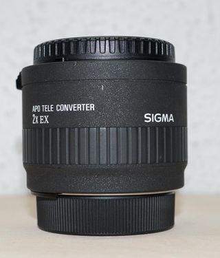 Tele convertidor Sigma 2.0 EX para Nikon