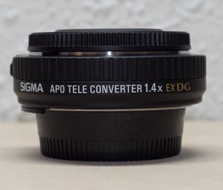 Tele convertidor Sigma 1.4 EX para Nikon