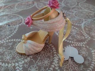zapato ornamento disney bella