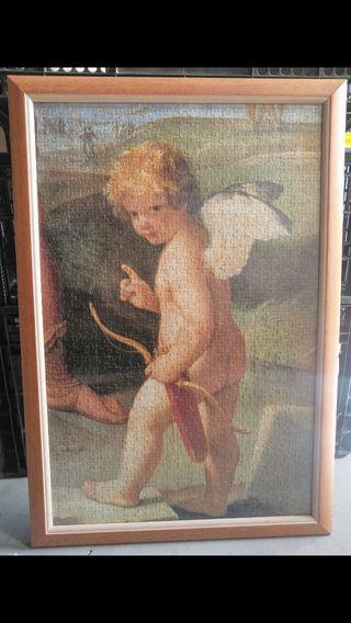 Cuadro de puzzle de angelito