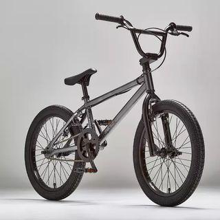 BICICLETA BMX 100 WIPE 20 PULGADAS GRIS