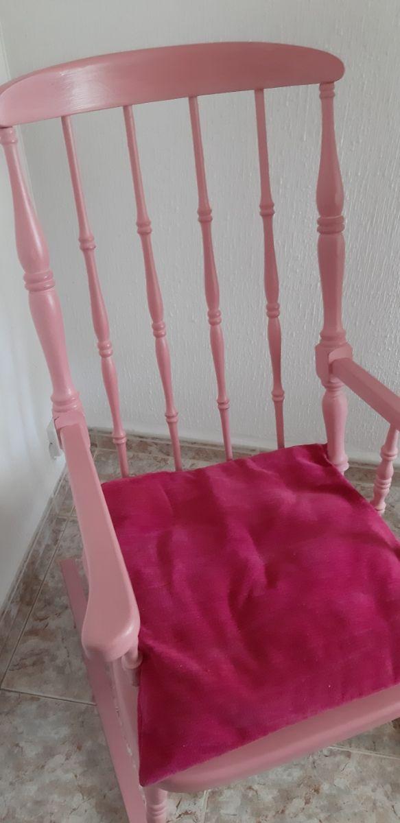 silla mecedora balancín