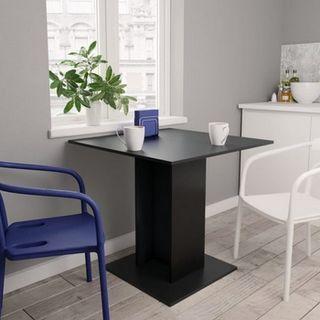 Mesa de comedor negro 80x80x75 cm OFERTA!!!