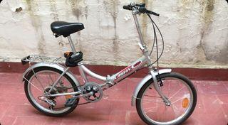 Bicicleta plegable buen estado 70€