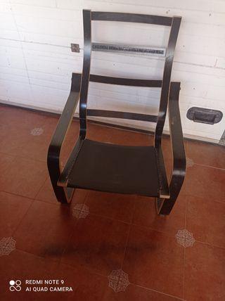 estructura sillón poang