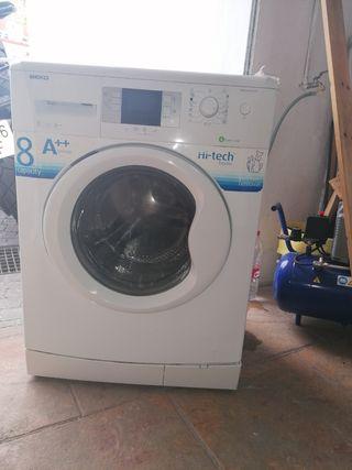 lavadora beko 8kg 1000rpm A++