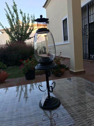 Candelabro estilo lámpara de aceite NUEVO