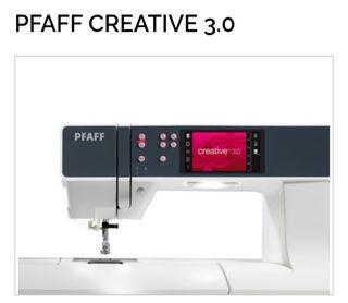 Maquina de coser y bordar Pfaff Creative 3.0