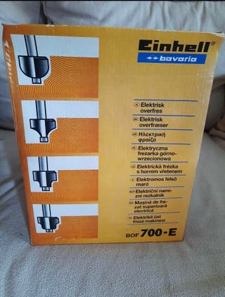 Fresadora eléctrica Einhell