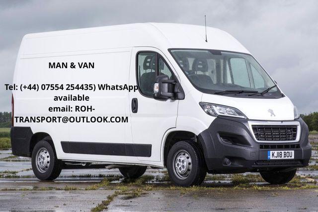 Man with van 20£/h