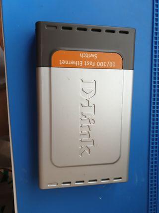 SWITCH D-LINK 8 PUERTOS 100 Mbps