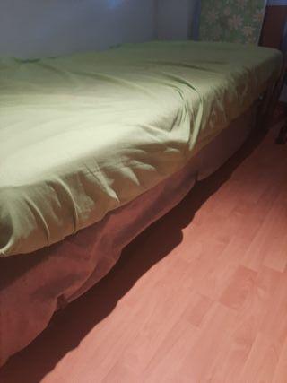cama nido con 2 colchones