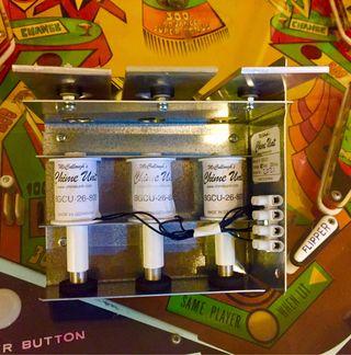 Xilófono pinball electromecánico