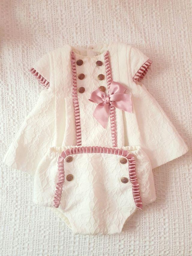 Vestido Dolce Petit 3 meses