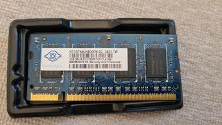 Memoria RAM DDR2 667 1GB PC 2 5300S