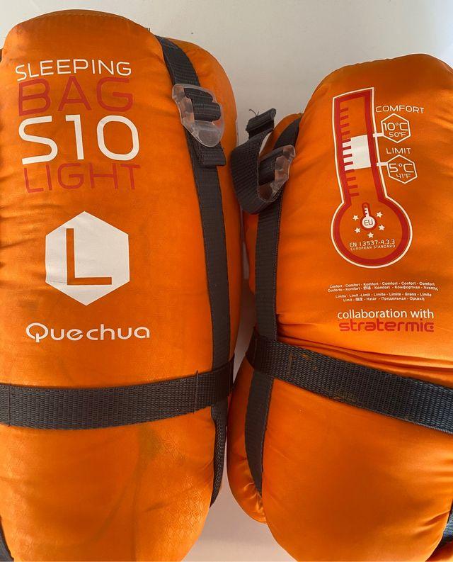 Saco de dormir S10 light, entre 5C° y 10C°