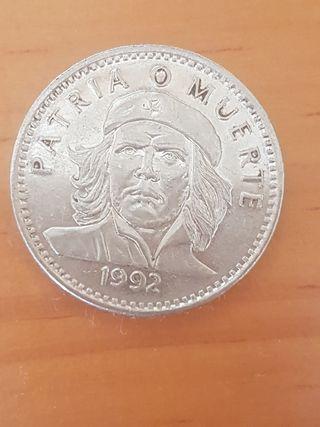Moneda cubana en pesos del CHE GUEVARA