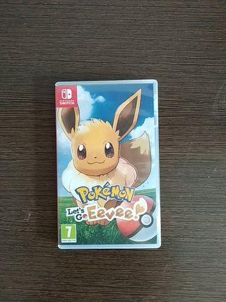 Juego de Nintendo switch Pokémon eevee let's go!