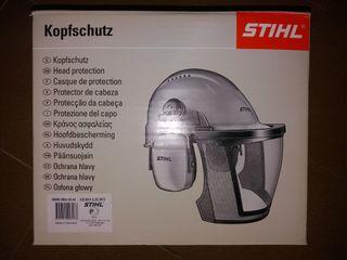 casco forestal/desbrozadora stihl